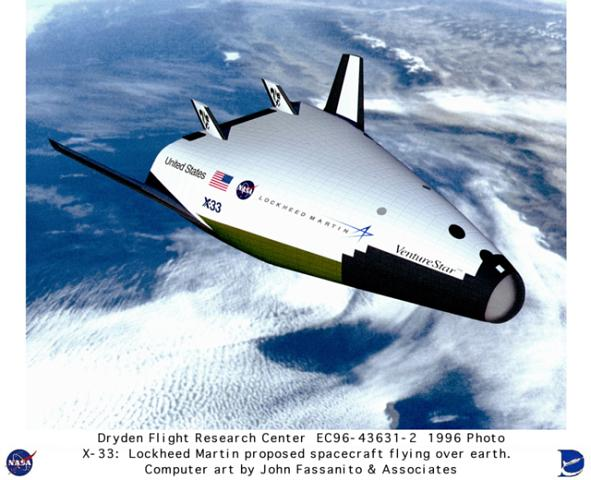 X-33 Orbiter - Artist's Conception