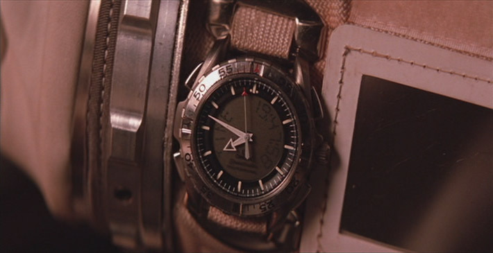 "Gen 1 X-33 featured worn on the right arm of an EVA suit in the movie ""Mission to Mars."" Perhaps this is how the Mars nonsense started… Images © Touchstone Studious"