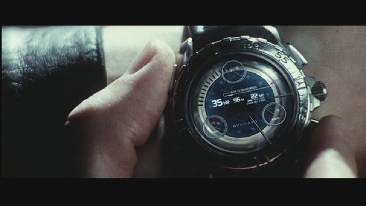 Omega X-33 Minority Report Bulgari