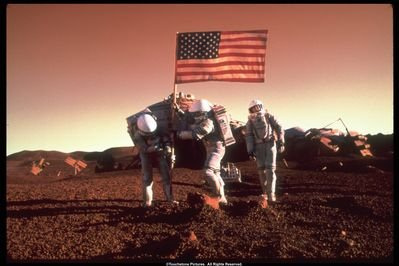 Scene from Mission to Mars