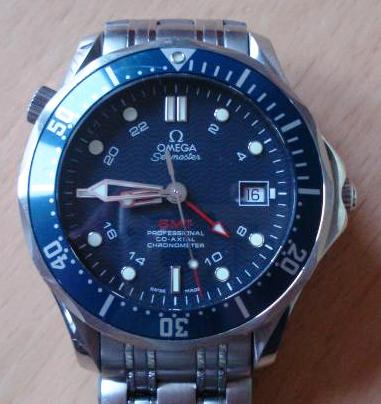 Omega SBS Seamaster GMT