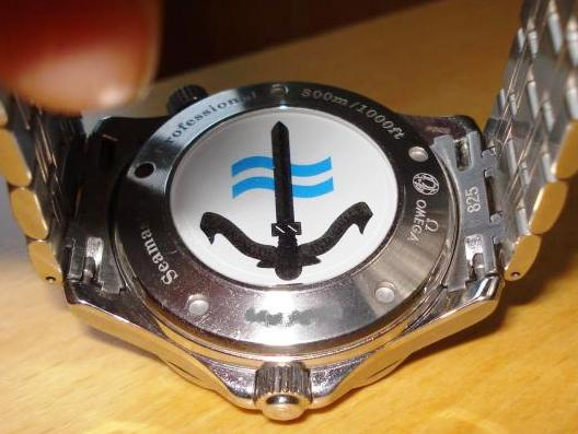 Omega SBS Seamaster GMT caseback
