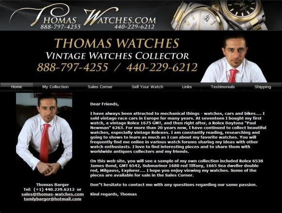 Thomas-Watches.com