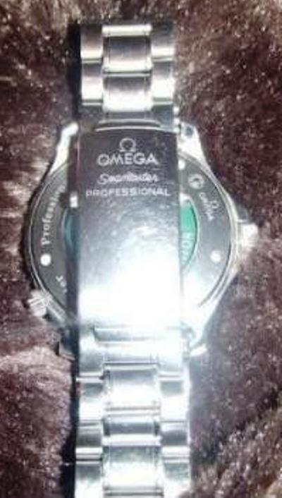Omega Speedmaster-style Bracelet and clasp with dive extension