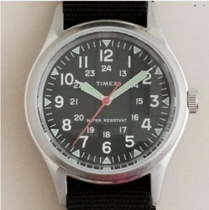 J. Crew 'Military' Timex Watch, $150.00.  Photo: J. Crew