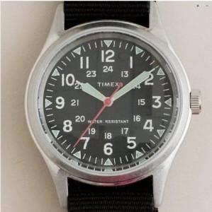 J. Crew 'Military' Timex Watch, $150.00. Photo: J. Crew
