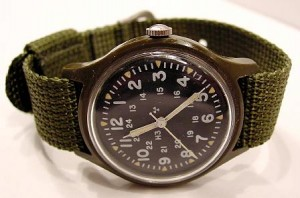Timex 46374B Plaastic watch made for US military, 1982. Issue Timex watches are actually quite uncommon.