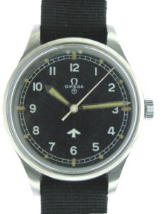 "Omega '53 ""Fat Arrow"" CK 2777.  Photo: Classicwatch.com"