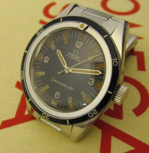 Vintage Omega Seamaster 300 with Aldo replacement bezel insert