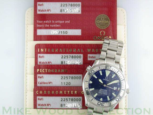 "Warranty, COSC, and Pictogram Cards with the new 2257.80.00 ref # as well the new ""Your Watch Is Unique"" numbered card"