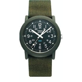 "Military-esque Timex ""Camper"" Quartz Watch"