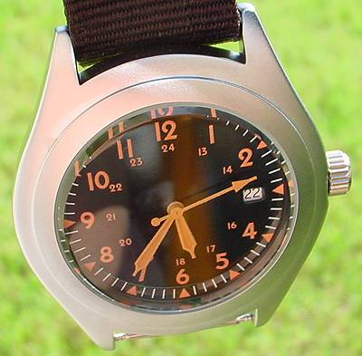 """Vietnam"" Quartz Field Watch. Seller's photo."