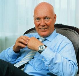 Hublot CEO Jean-Claude Biver