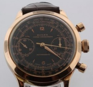 "Rolex Oyster Chronograph referred to as ""Monoblocco"" of the same type as some sent by Rolex to British prisoners of way in Germany during WWII."