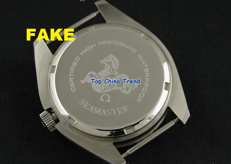 New Strain Of Chinese Omega Seamaster 300 Fakes Emerges