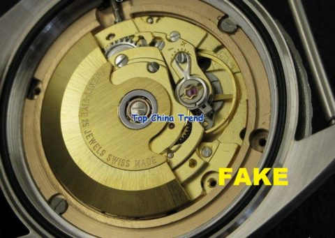 """Movement is all wrong, should be a cal. 55x. Bizarrely it seems to be a faked generic ETA movement and is even marked as such instead of """"Omega."""""""