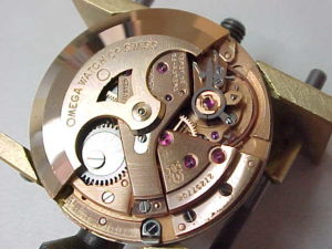 "Omega Caliber 564 movement circa 1968 with the famous ""Rose Gold"" copper finish."