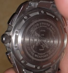 Military Omega X-33 Top Gun Naval Fighter Weapons School