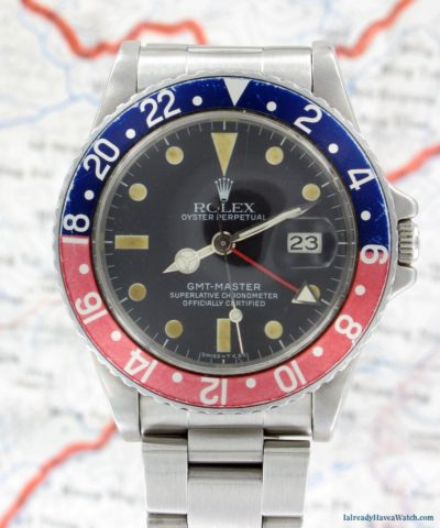 MWR Holiday Raffle Grand Prize - Rolex 16750 GMT Master with Pepsi Bezel.