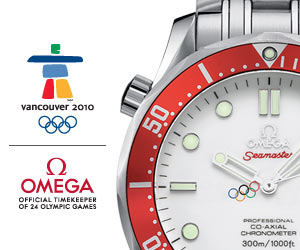 Omega Olympic Vancouver 2010 Winter Games