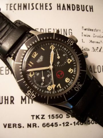Heuer Bund Chrono Manual