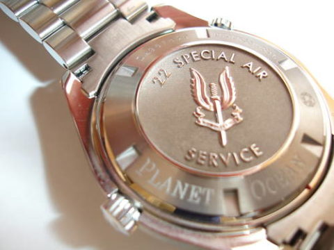 Omega Planet Ocean SAS 22nd Special Sir Service